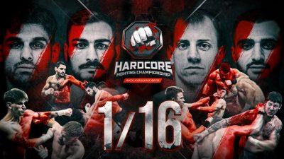 Hardcore FC: 1/16 финала, 2 часть, видео