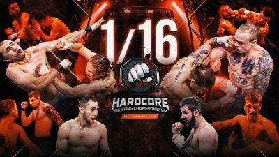Hardcore FC: 1/16 финала, 1 часть, видео