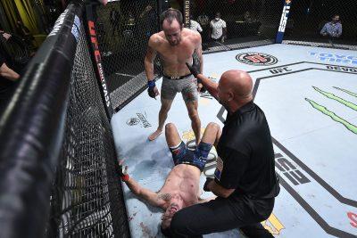 Финиш - Мирсад Бектич vs. Дэймон Джексон: UFC Вегас 11