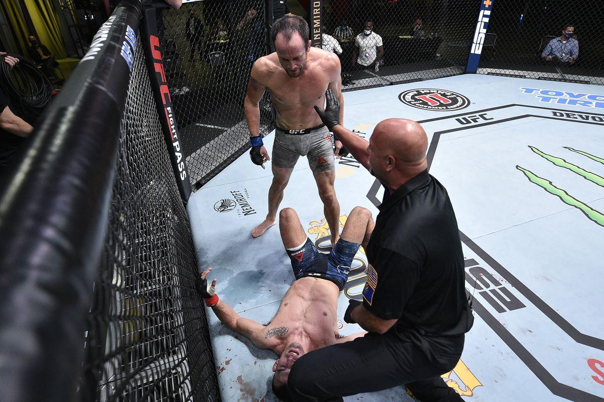 Бектич Джексон на UFC Вегас 11