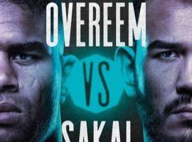 Файткард турнира UFC on ESPN+ 34: Алистар Оверим - Аугусто Сакаи