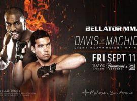 Полный файткард турнира Bellator 245: Фил Дэвис vs Лиото Мачида 2