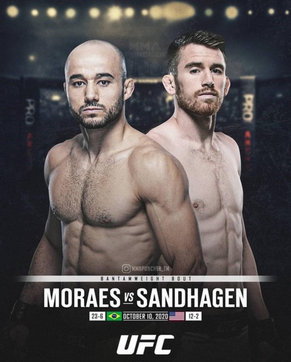 UFC Fight Night: Мораес vs Сэндхаген
