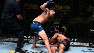 Нокаут - Джурни Ньюсон vs. Рэнди Коста: UFC Вегас 11