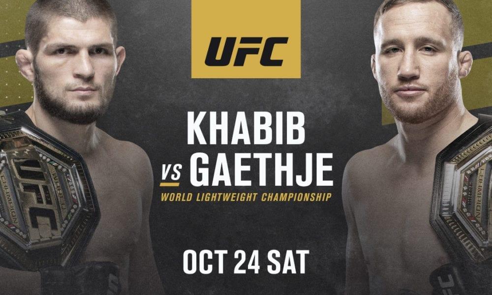 UFC 254: Нурмагомедов vs Гэтжи