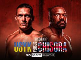 Бой Усик vs. Чисора официально подтверждён. Украинский боксёр уже успел дать комментарий