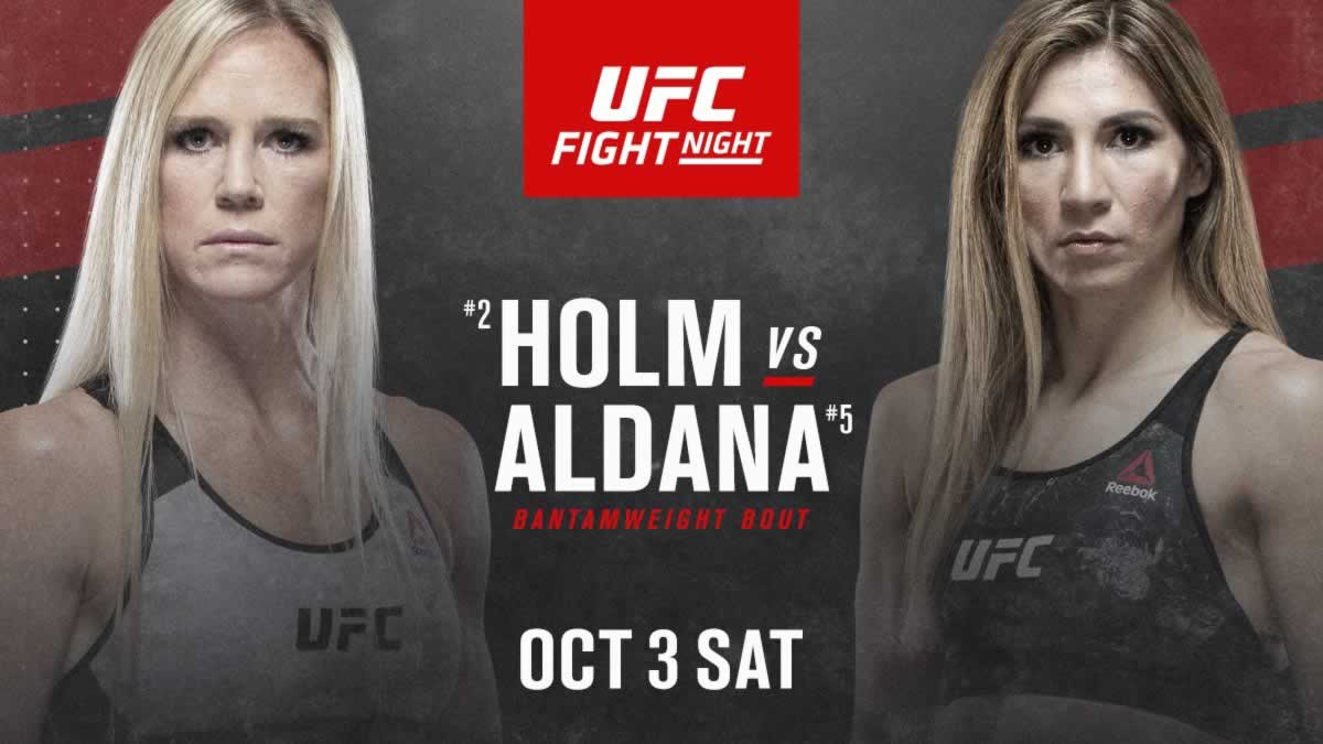 UFC Fight Night: Холм vs. Алдана
