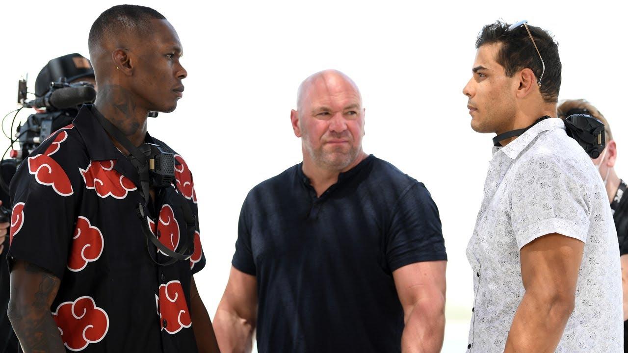 Битва взглядов перед UFC 253