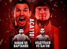 Результаты турнира ACA 110: Али Багов vs. Мурад Абдулаев