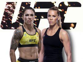 Джессика Андраде — Кэтлин Чукагян: прогноз и ставка на бой UFC Fight Night 180: Ortega vs. Korean Zombie