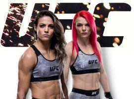 Джиллиан Робертсон — Полиана Ботельо: прогноз и ставка на UFC Fight Night 180
