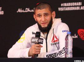 Хамзат Чимаев считает, что до титульного боя в UFC ему осталось немного