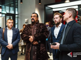 Стивен Сигал провел в Академии единоборств РМК Всероссийский фестиваль Айкидо