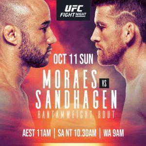 Лучшие моменты UFC Fight Night: Мораес vs Сэндхаген