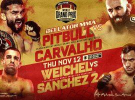Патрисио Фрейре — Педро Карвальо: прогноз и ставка на бой Bellator 252