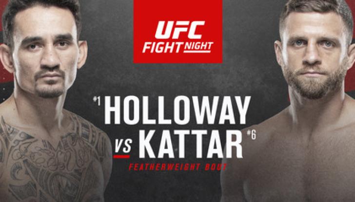UFC Fight Night 184: Холлоуэй – Каттар