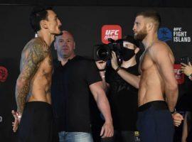 Результаты и церемония взвешивания UFC on ABC 1: Холлоуэй vs Каттар