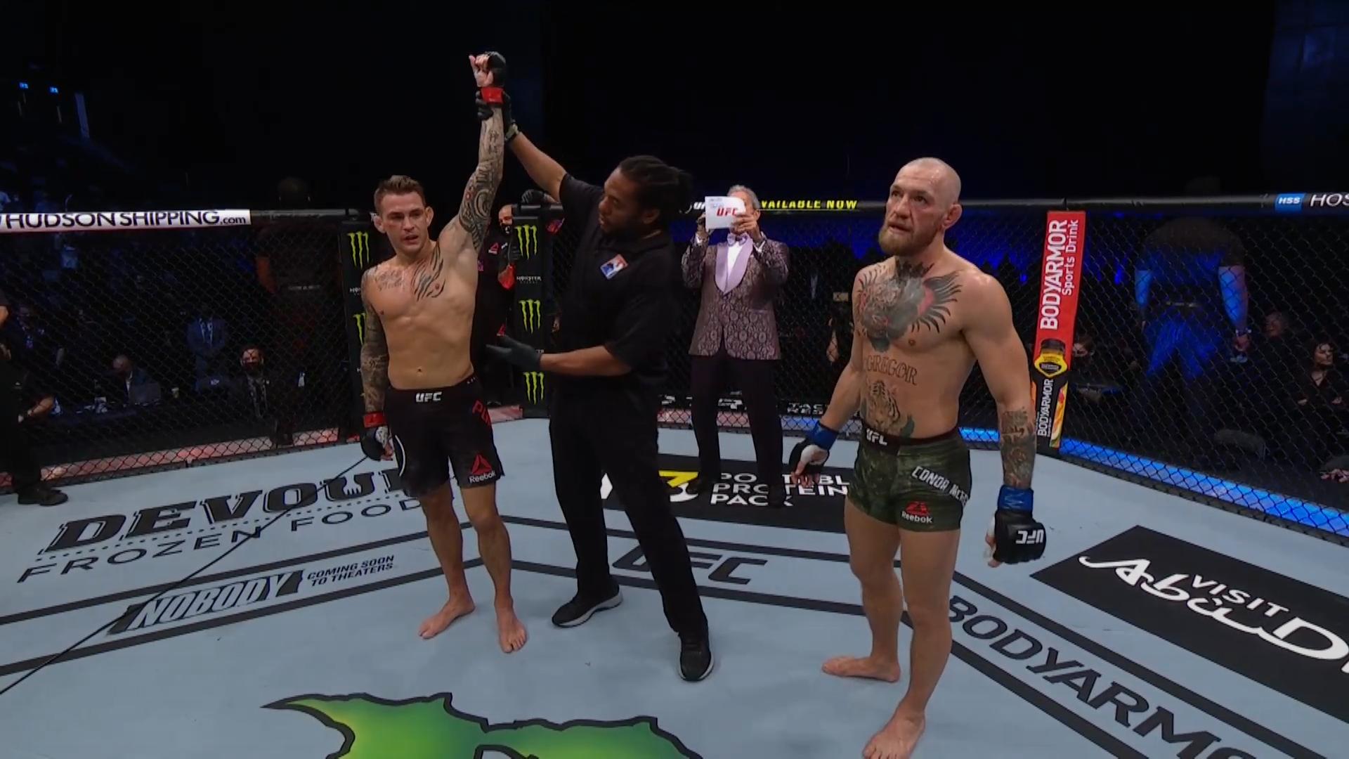 UFC 257: МакГрегор - Порье, лучшие моменты