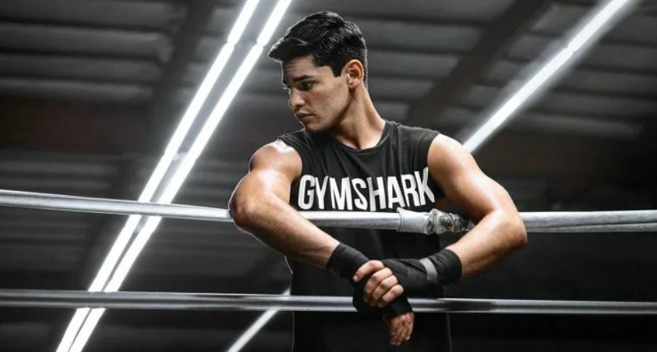 Райан Гарсия. Фотосессия на ринге