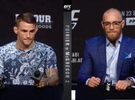 Пресс-конференция перед UFC 257: Порье vs МакГрегор 2