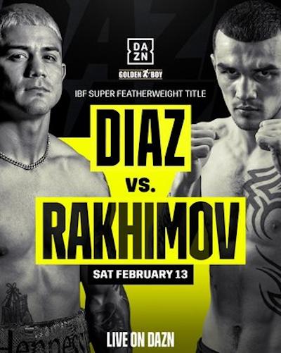Бокс: Диаз - Рахимов