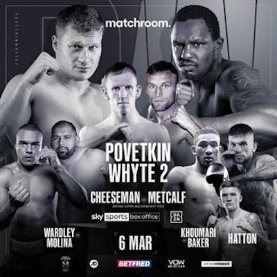 Бокс: Поветкин vs Уайт 2