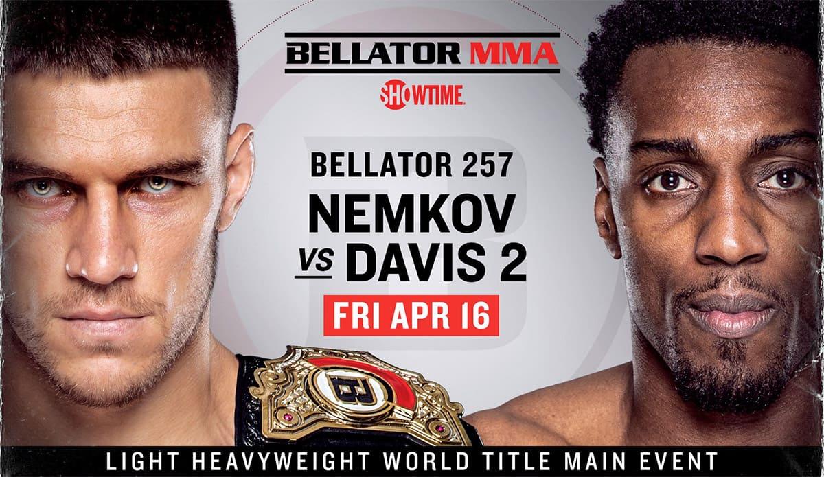 Bellator 257: Немков - Дэвис 2