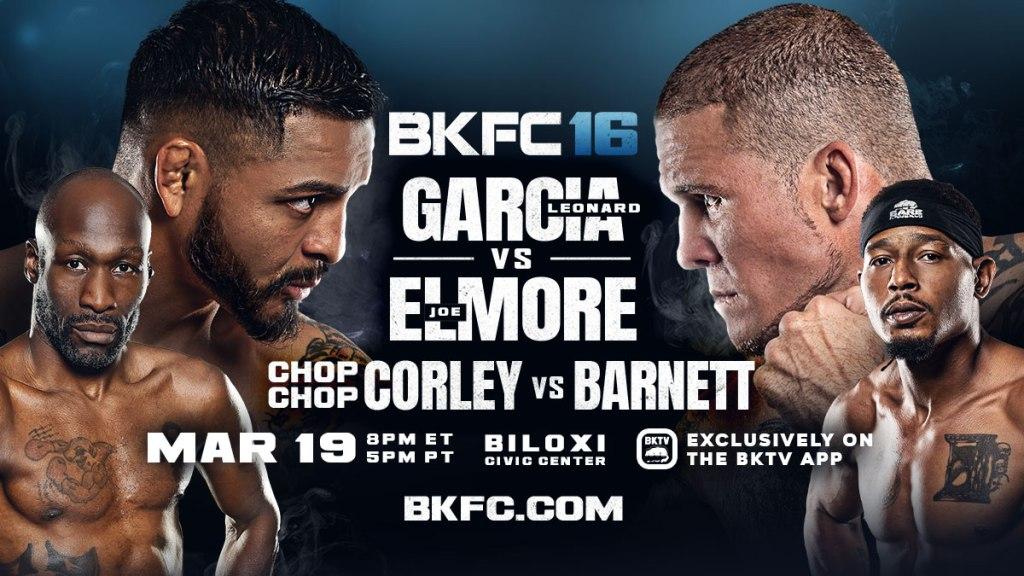 BKFC 16: Гарсия vs. Элмор