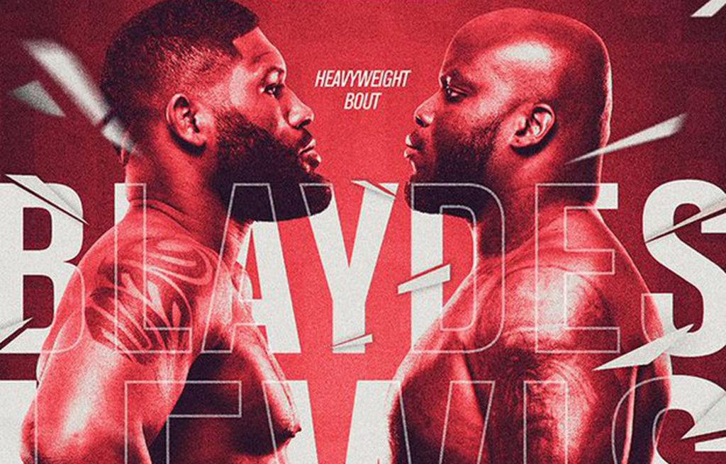 UFC Fight Night 185: Блэйдс - Льюис