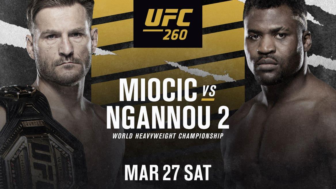 UFC 260: Миочич - Нганну 2