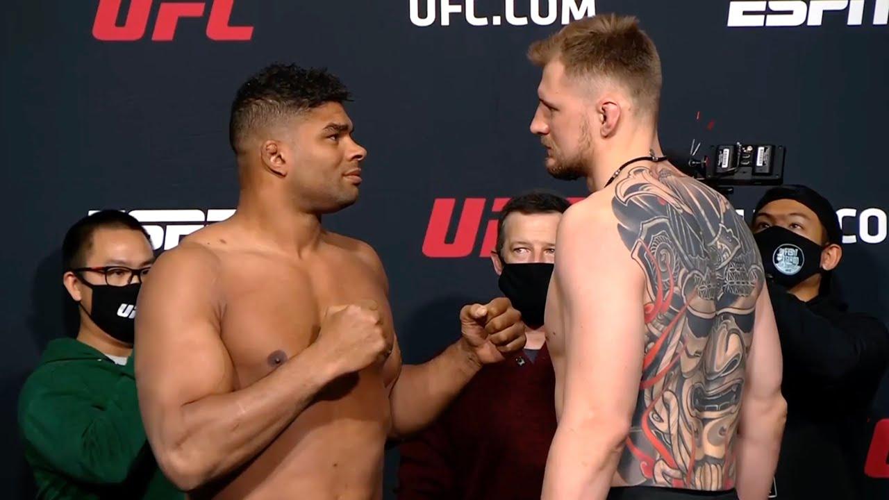 Оверим и Волков перед UFC Vegas 18