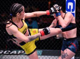 Полиана Виана - Маллори Мартин: яркий финиш на UFC 258