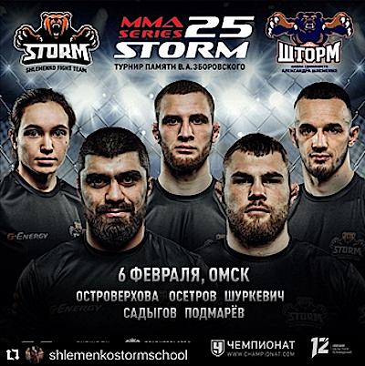 MMA SERIES-25: Storm