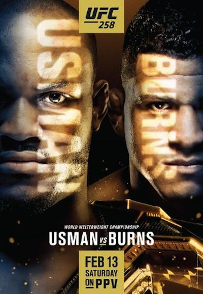 UFC 258: Усман - Бернс