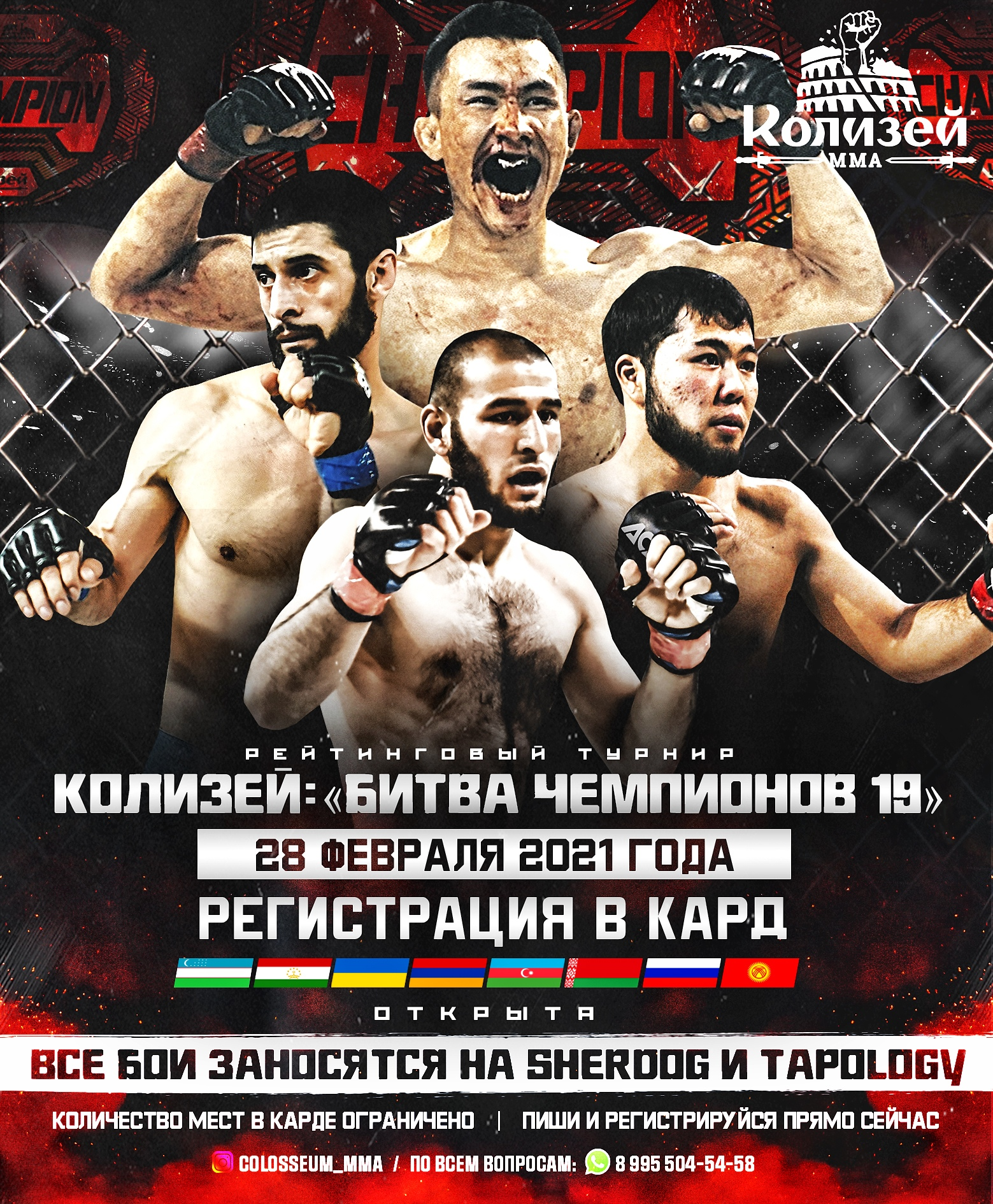 Colosseum MMA: Battle of the Champions 19