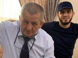 Ислам Махачев опубликовал в Instagram пост, посвященный Абдулманапу Нурмагомедову