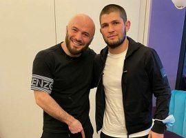 Магомед Исмаилов и футболисты Анжи попросили Хабиба помочь клубу
