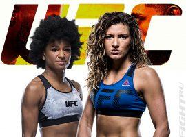 Анджела Хилл — Эшли Йодер 2: прогноз и ставка на бой  UFC Fight Night 187: Эдвардс vs. Мухаммад
