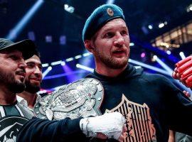 Камил Гаджиев считает, что при равном поединке, пояс должен будет остаться у Минеева