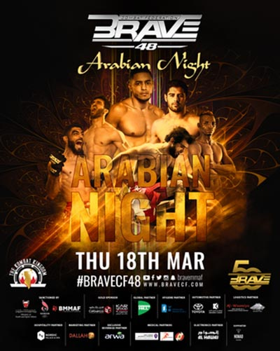 BRAVE CF 48: Арабская ночь