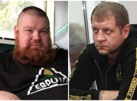 Александр Емельяненко заявил, что изобьёт Вячеслава Дацика в случае боя