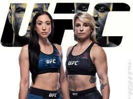 Джессика Пенне — Ханна Голди: прогноз и ставка на бой  UFC 260: Миочич vs. Нганну 2