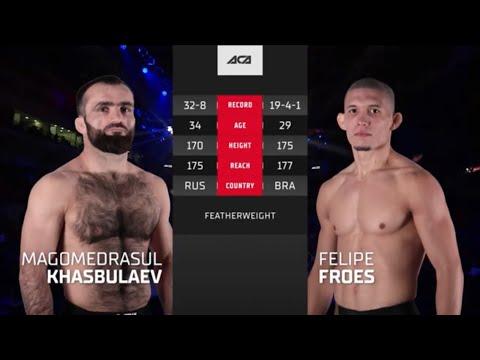 Хасбулаев vs. Фроес