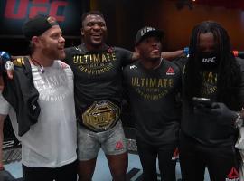 Новый чемпион в UFC. Фрэнсис Нганну отправил Миочича в тяжелейший нокаут