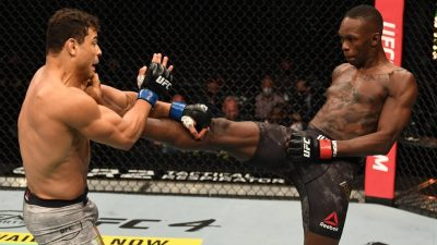 Исраэль Адесанья: лучшие моменты в UFC - видео