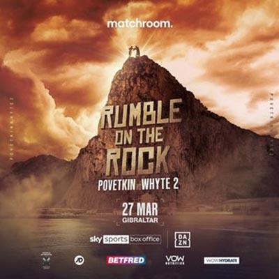 Rumble on the Rock: Поветкин vs Уайт 2. Бокс