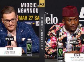 Пресс-конференция UFC 260: Миочич vs. Нганну 2