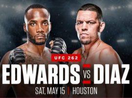 Бой Леон Эдвардс vs. Нейт Диас состоится на турнире UFC 262