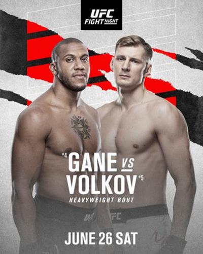 UFC Fight Night: Ган vs. Волков