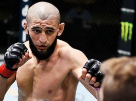 Хамзата Чимаева вернули в рейтинг ТОП-15 UFC